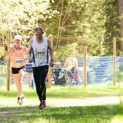 36. Tartu Maastikumaraton - Jüri Tuha (8850), Annika Vaiksaar (8889)