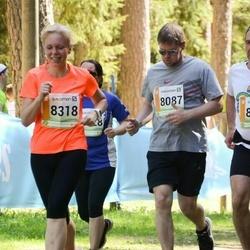 36. Tartu Maastikumaraton - Andre Hallaste (8087), Pirje Külaots (8318)