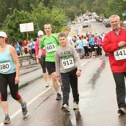 PAF Tartu Olümpiajooks - Karin Sangla (380), Aare Tinn (441), Mikk Sangla (912)