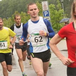 PAF Tartu Olümpiajooks - Meelis Nõmm (61), Indrek Ots (62), Annika Vaher (125)