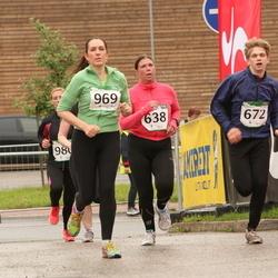 PAF Tartu Olümpiajooks - Marge Parbo (638), Artam Kivisild (672), Kairit Kaasik (969)