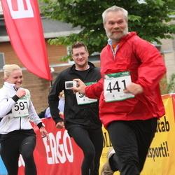 PAF Tartu Olümpiajooks - Aare Tinn (441), Jana Saarna (597)