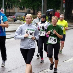 PAF Tartu Olümpiajooks - Annika Altoja (658), Eha Kanarbik (667), Anne-Liis Tamm (856)