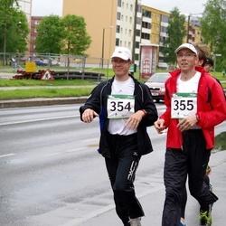 PAF Tartu Olümpiajooks - Kalev Nõmmiste (354), Sulev Nõmmiste (355)