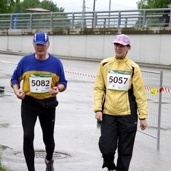 PAF Tartu Olümpiajooks - Christel Umal (5057), Teet Bergmann (5082)
