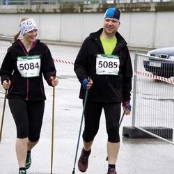 PAF Tartu Olümpiajooks - Berit Kroon (5084), Hanno Kroon (5085)