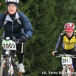 10. Tartu Rattamaraton - Kristiina Kindel (2005), Taivo Idavain (2817)