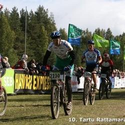 10. Tartu Rattamaraton - Gaido Kaeramaa (667), Heiki Möll (1088), Alar Reiska (2230)