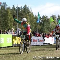 10. Tartu Rattamaraton - Rita Toome (839), Aare Lükko (849)