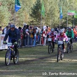 10. Tartu Rattamaraton - Eve Laas (2557), Andres Rodenberg (4650), Artur Sarapuu (5375)