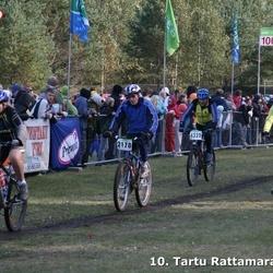 10. Tartu Rattamaraton - Jüri Sakkeus (2178), Karl Volmer (4105), Mari Sild (4154), Agu Koppa (4328)