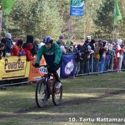 10. Tartu Rattamaraton - Toivo Võsu (4161), Aavo Välba (4720)