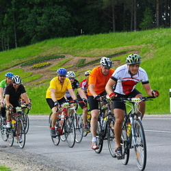 SEB 32. Tartu Rattaralli - Aavo Audova (5370), Toomas Piller (5385), Simmo Kruustük (5445)