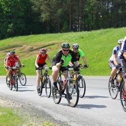 SEB 32. Tartu Rattaralli - Arno Ladva (5482), Kalmer Kade (6436), Reelika Kiivit (6619)