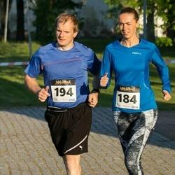 Õhtujooks II etapp - Veronika Uibo (184), Peeter Jõeloo (194)