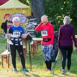 Õhtujooks II etapp - Annika Jansikene (196), Urve Varblane (198)