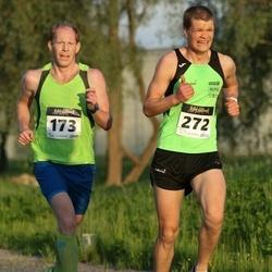 Õhtujooks II etapp - Martin Adusoo (173), Rainer Nisloni (272)
