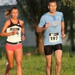 Õhtujooks II etapp - Tiit Palu (197), Birgit Pihelgas (276)
