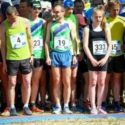 47. jooks ümber Harku järve - Vjatšeslav Košelev (4), Ahto Jakson (19), Kirsi Gertrud Meigas (333)