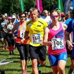 47. jooks ümber Harku järve - Eeva Aavik (106), Ando Hermsalu (160)