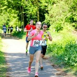 47. jooks ümber Harku järve - Andre Abner (41), Mall Vendel (560)