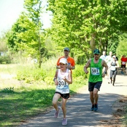 47. jooks ümber Harku järve - Berit Kant (201), Janek Tass (501)