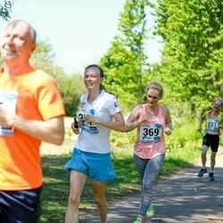 47. jooks ümber Harku järve - Alekszej Morgunov (347), Elen Nurk (369)