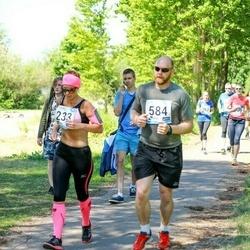 47. jooks ümber Harku järve - Annika Koppel (233), Veigo Koppel (584)