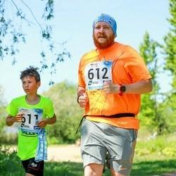 47. jooks ümber Harku järve - Mihail Petrov (611), Anatoli Prokjotov (612)