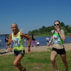 47. jooks ümber Harku järve - Kadiliis Kuiv (90), Anneli Vaher (538)