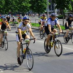 SEB 32. Tartu Rattaralli - Anatoli Babkin (5834), Kadri Toit (5964), Marko Madisson (6070)