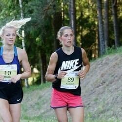 4. Otepää jooksutuur - Katrena Tenno (10), Veiko Randaru (32), Andra Moistus (89)