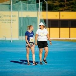4. Otepää jooksutuur - Leila Lahtvee (45), Doris Sarapuu (50)
