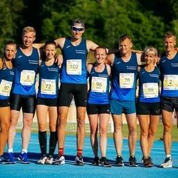 4. Otepää jooksutuur - Raido Mitt (2), Andres Hellerma (5), Laura Maasik (72), Marek Läte (76), Marika Turb (96), Merlyn Lükk (97), Marion Tibar (98), Rain Seepõld (102)