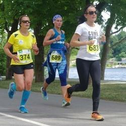 Narva Energiajooks - Moonika Kitt (374), Anna Inederkina (683), Daria Nikeshina (689)