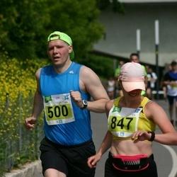 Narva Energiajooks - Urmas Tuvikene (500), Anna Kuleshova (847)