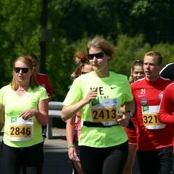 Narva Energiajooks - Monika Raiendik (2413), Tatjana Karpenko (2846), Bi Sehi Elysee Irie (3207)