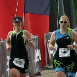 IRONMAN 70.3 Otepää - Anastasia Zubkova (290), Nicole Kröber (546)