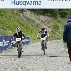 Husqvarna Eesti Olümpiakrossi karikasari III etapp - Annabrit Prants (93), Ellen Jordas (146)