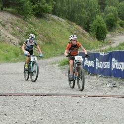 Husqvarna Eesti Olümpiakrossi karikasari III etapp - Lauri Tamm (10), Viljami Jalonen (99)