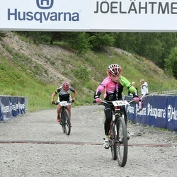Husqvarna Eesti Olümpiakrossi karikasari III etapp - Mairit Kaarjärv (142), Elisabeth Ebras (147)