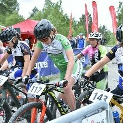 Husqvarna Eesti Olümpiakrossi karikasari III etapp - Sille Puhu (5), Iiris Takel (76), Mari-Liis Mõttus (117), Mairis Õispuu (143)