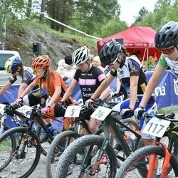 Husqvarna Eesti Olümpiakrossi karikasari III etapp - Sille Puhu (5), Anet Sirvel (65), Iiris Takel (76), Mailis Salla (88), Mari-Liis Mõttus (117)