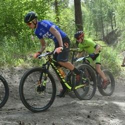 Husqvarna Eesti Olümpiakrossi karikasari III etapp - Margus Malva (49), Robert Johanson (124)