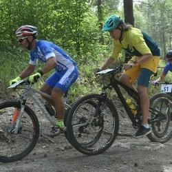 Husqvarna Eesti Olümpiakrossi karikasari III etapp - Laur Samlik (35), Janek Arme (51)