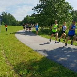 37. jooks ümber Pühajärve - Jürgen Külm (420), Raimo Salla (583)