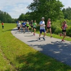 37. jooks ümber Pühajärve - Sander Pihlak (37), Heidi Raju (58)