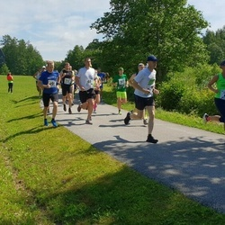 37. jooks ümber Pühajärve - Ivo Vahtramäe (51), Tarmo Napa (495), Jaanus Laidvee (737)