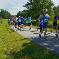 37. jooks ümber Pühajärve - Marko Pille (94), Urmo Karu (126), Marek Aasna (280), Marti Soosaar (595), Reemet Valting (646)