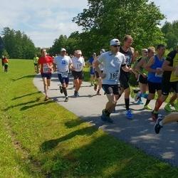 37. jooks ümber Pühajärve - Rain Arumäe (144), Raine Hirve (169), Kalle Palmar (179)